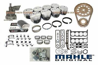 Chevy 427 Master Engine Kit Forged Pistons Stage 2 Cam Hd Timing Springs 60