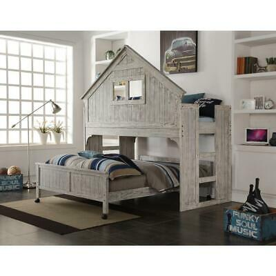 Club House Tall Loft W/full Caster Bed