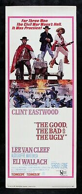 the good the bad and the ugly ✯ cinemasterpieces clint eastwood movie poster 1966