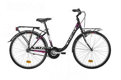 Bicycle Unisex Atala Griffin 1v 2019 Shimano Walking Alu Black 26 ""