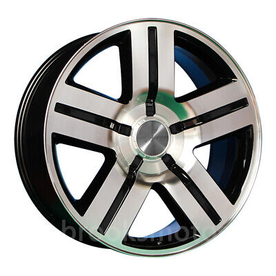 """24"""" Texas Edition Style Wheels Rims Fit Escalade 24x9.5 Offset25 6x139.7 78.1"""