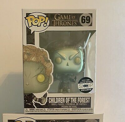 Nycc Exclusive Children Of The Forest Metallic Funko Pop! Game Of Thrones New!