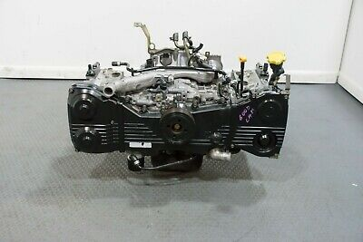 Used Low Mileage Non Avcs Ej205 Long Block Replacement For 02-05 Subaru Wrx 2.0