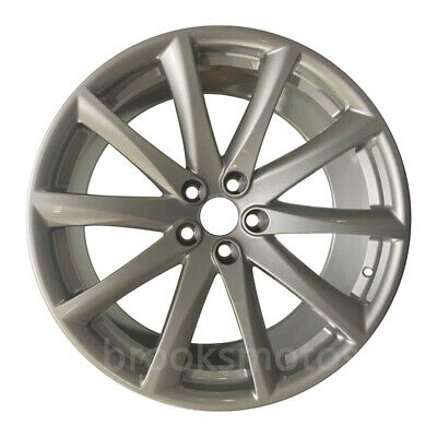 "20"" Staggered Style Silver Wheels Rims For Jaguar Xjl Xj 20x9 And 20x10 5x108"