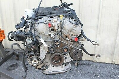 2008 Infiniti G37s Coupe #128 Vq37vhr Manual Engine Motor Block W/ Accessories