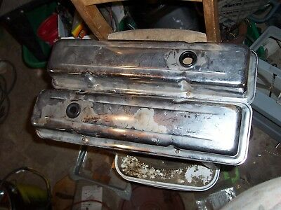 Chevy Small Block Chrome Valve Covers