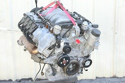2003 Mercedes Sl500 R230 #130 Engine Motor Block Assembly M113 71k/mi Tested