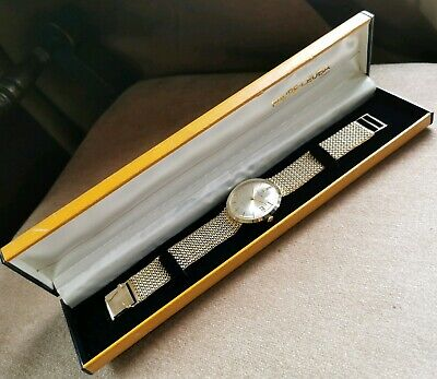 Vintage & Extremely Rare Solid 9ct Gold Favre-leuba Swiss Automatic Wristwatch