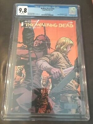 The Walking Dead Comic #154 Twd 1st Appearance Of Beta Whisperers Cgc 9.8