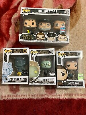 Game Of Thrones Funko Pop Lot Of 4