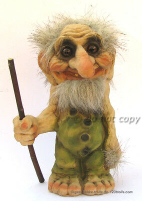 Ny Form Troll:  Grandfather  With Stick From Norway,  Norvège, Норвегия, Noruega