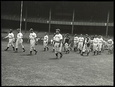 1941 New York Black Yankees Warming Up In Yankee Stadium Type 1 Original Photo