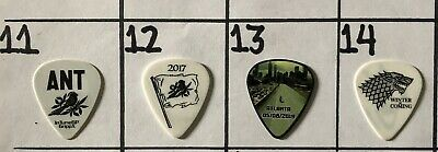 2019 Shinedown Atlanta The Walking Dead Eric Bass Tour Used Guitar Pick #13