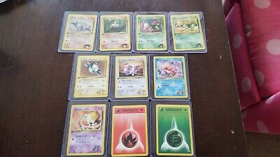 Pokemon Gym Heroes Set Assorted First Editions