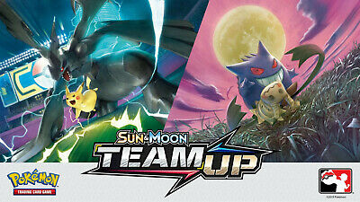 Pokemon Trading Cards - Sun & Moon Series: Team-Up Set (2019) 1/181-196/181