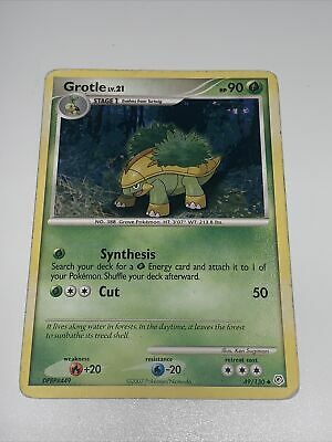 Grotle 49/130 POKEMON Diamond & Pearl Uncommon Grass Type Near Mint HP90  x1