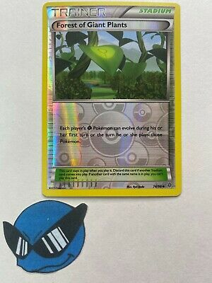 Pokemon TCG : Forest of Giant Plants 74/98 Reverse Holo Ancient origins