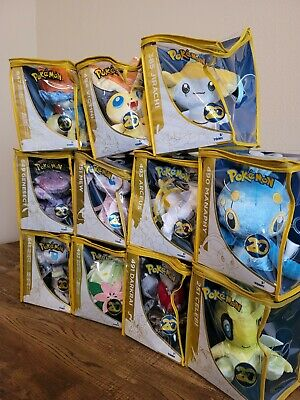 Pokemon 20th Anniversary Plush Set Of 11 - Pikachu/Mew/Celebi/Arceus Brand New