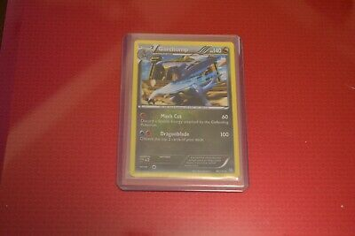 Pokemon Dragons Exalted Garchomp Holo Excellent to Near Mint condition