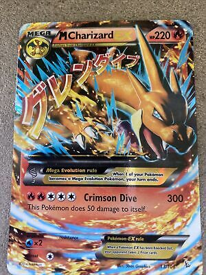 MEGA M CHARIZARD EX 13/106 XY Flashfire Ultra Rare Pokemon Near Mint