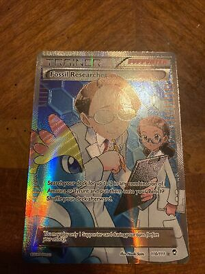 Fossil Researcher - 110/111 - Full Art Ultra Rare - Furious Fists Pokemon LP