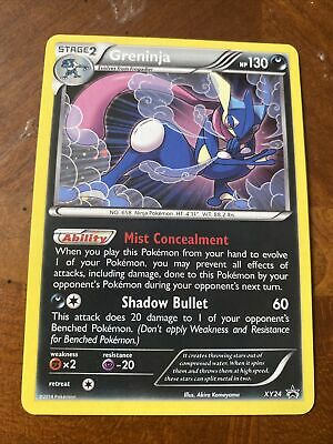 Pokemon - Greninja Black Star Full Art Xy24 Promo NM