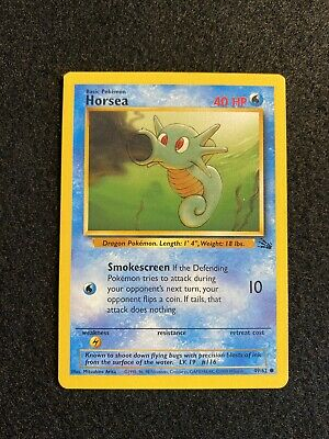 HORSEA - Fossil Set - 49/62 - Common - Pokemon Card
