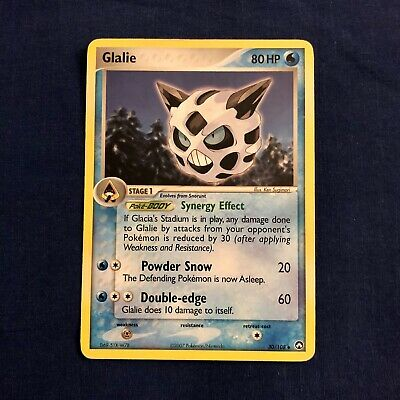 Glalie 30/108 Uncommon Ex Power Keepers LP Pokemon card