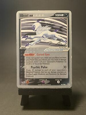 Absol Ex 92/108 World Champ 2007 Power Keepers Autographed Pokemon