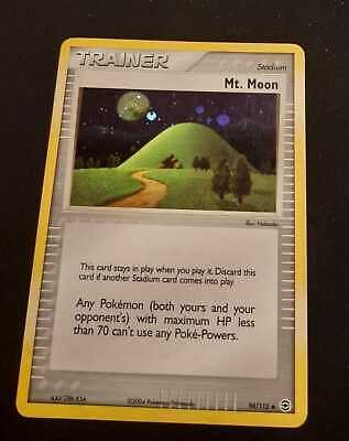 Pokemon Trainer Mt. Moon 94/112 Holo - EX FireRed & LeafGreen - NM Condition