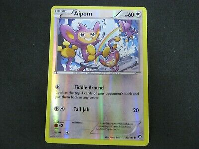 Pokemon Card (1) Steam Siege Holo Number 90 AIPOM