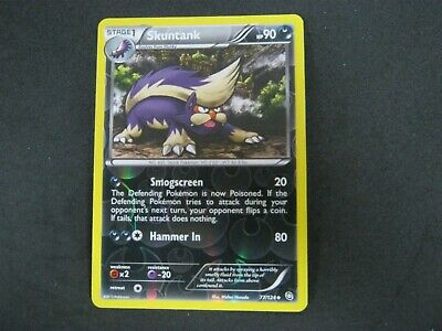 Pokemon Card (1) Dragons Exalted Holo Number 77 SKUNTANK