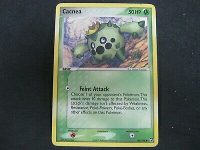 Pokemon Card Ex Power Keepers Number 46 CACNEA