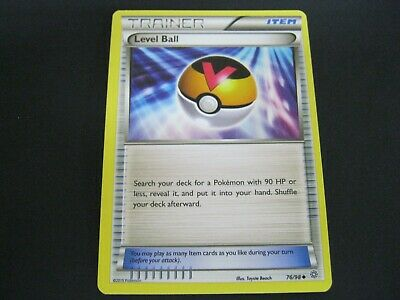 Pokemon Card Ancient Origins Number 76 LEVEL BALL