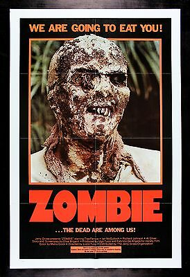 Zombie * Cinemasterpieces Original Night Of The Living Walking Dead Movie Poster