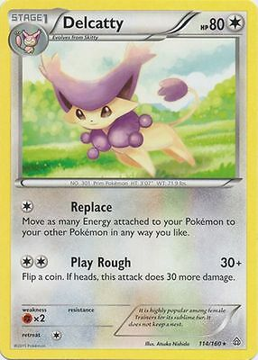 Delcatty POKEMON XY PRIMAL CLASH 114/160 RARE CARD