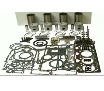 Perkins 1103c-33t Turbocharged Overhaul Engine Kit Mf Tractor 3425 430 Fg Wilson