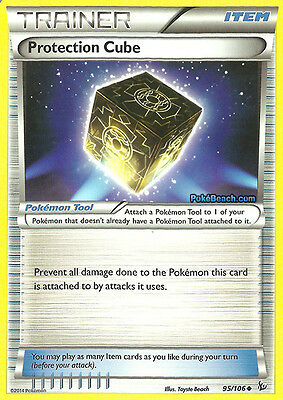 Protection Cube 95/106 - Xy Flashfire Pokemon Holo Trainer Card - In Stock Now!