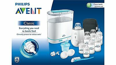 Avent Classic Bottle Solution Set Incl Steriliser And Food Warmer 1