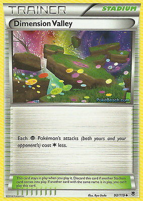 Dimension Valley 93/119 - Xy Phantom Forces Pokemon Trainer Card In Stock Now!
