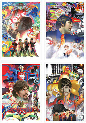 the beatles yellow submarine boxed set alex ross pp 25 signed authorized dealer