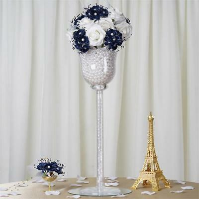 "18"" Clear Plastic Vases Cups Party Wedding Centerpieces Reception Decorations"