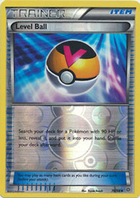 Level Ball 76/98 XY Ancient Origins REVERSE HOLO MINT! Pokemon