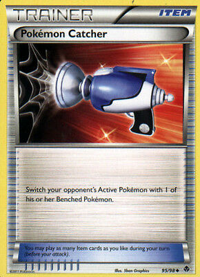 Pokemon Catcher 95/98 B&W Emerging Powers Uncommon MINT! Pokémon