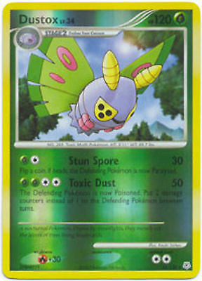Dustox 25/130 Diamond & Pearl REVERSE HOLO MINT! Pokemon