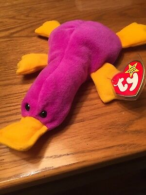 "Ty Beanie Baby Top 5 Value 1st Edition Very Rare 1993 ""patti"" Great Condition"