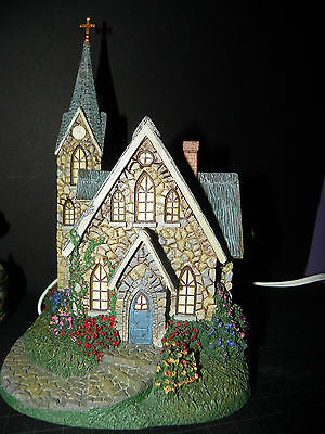 Thomas Kincade Lighted Lamplight Church - Mint - See My Store Sales