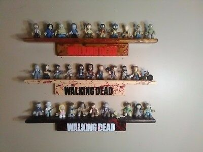 The Walking Dead Funko Mystery Minis Series 32 With 3 Signed Shelves By Artist