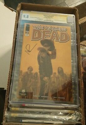 The Walking Dead #1 Wizard World Edition Cgc 9.8 Signed Tv Star Norman Reedus!