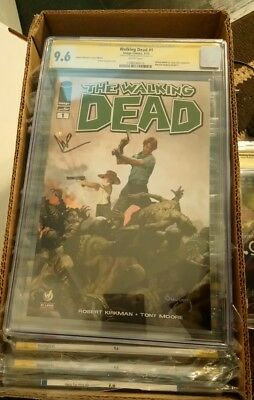 The Walking Dead #1 St. Louis Edition Cgc 9.6 Signed Tv Star Norman Reedus!